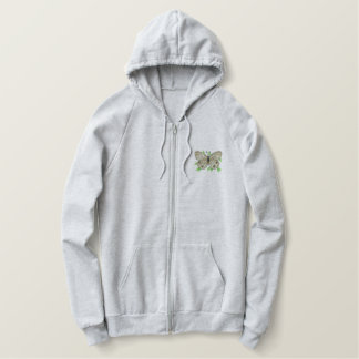 Catops Butterfly Embroidered Hoodie