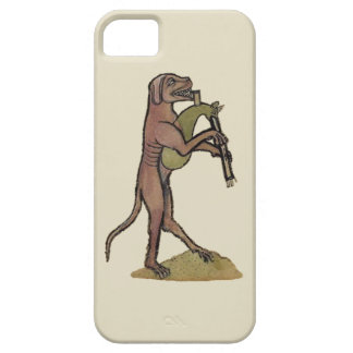 Catpipes/Dog playing cat bagpipes iPhone SE/5/5s Case