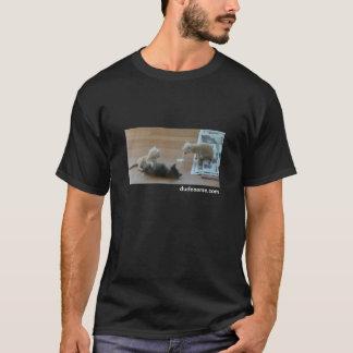 catpuke, dudesame.com T-Shirt