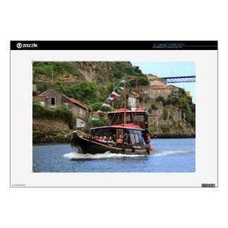 Catraios do Douro boat, Porto,Portugal Laptop Skin