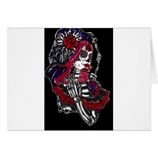 Catrina Day of the Dead Card