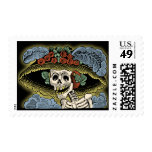 Catrina - Day of the Dead - Dia de los Muertos Postage Stamps