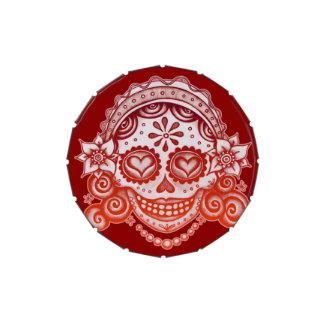 Catrina Sugar Skull Candy Tin - Day of the Dead