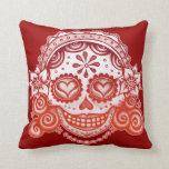 Catrina Sugar Skull Lady & Gentleman Pillow