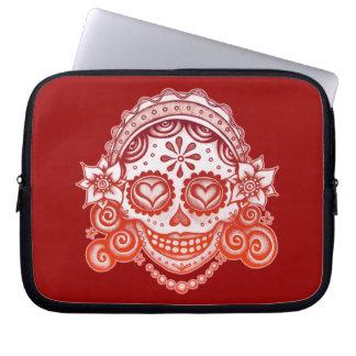 Catrina Sugar Skull Lady Laptop Sleeve