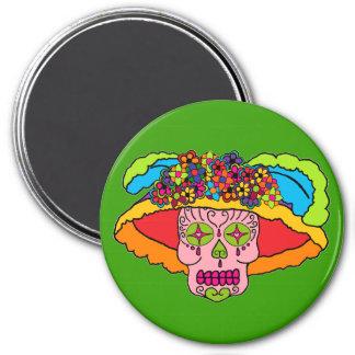 Catrina Sugar Skull Magnet
