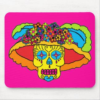 Catrina Sugar Skull Mouse Pad