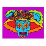 Catrina Sugar Skull Postcards