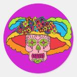 Catrina Sugar Skull Sticker