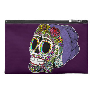 Catrina Sugar Skull Travel Bags