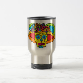 Catrina Sugar Skull Travel Mug