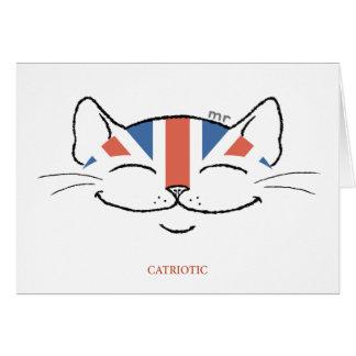 Catriotic Card