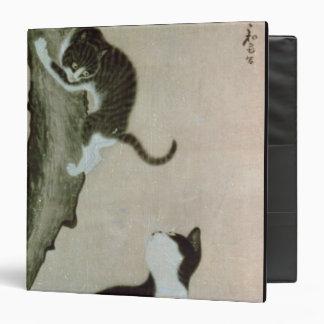 Cats, 17th century (ink on silk) 3 ring binder