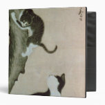 Cats, 17th century (ink on silk) 3 ring binders