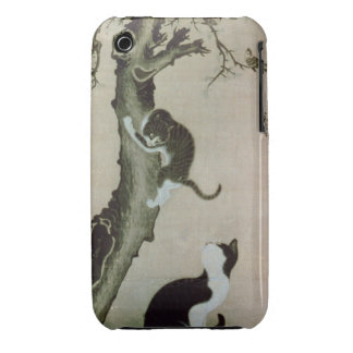 Cats, 17th century (ink on silk) iPhone 3 cover