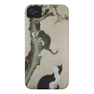 Cats, 17th century (ink on silk) iPhone 4 covers