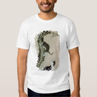Cats, 17th century (ink on silk) t shirt