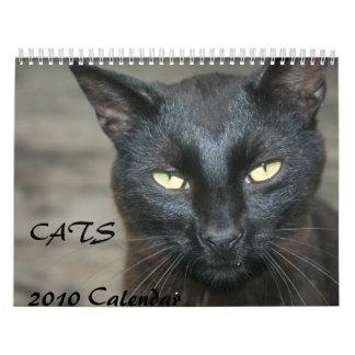 Cats 2010 Calendar
