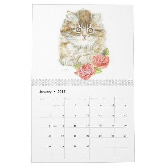 Cats 2013 calender calendar