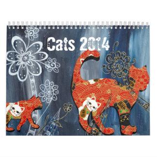 Cats 2014 calendar