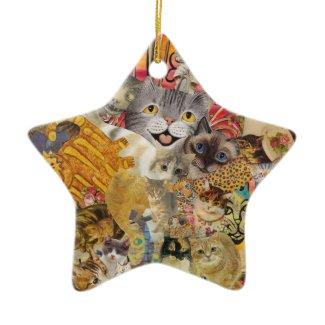Cats a Plenty Ornament ornament