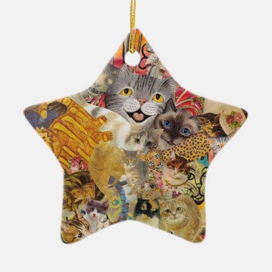 Cats a Plenty Ornament