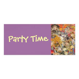 Cats a Plenty, Party Time Invitations