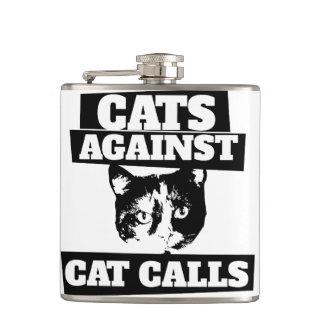Cats against cat calls flask