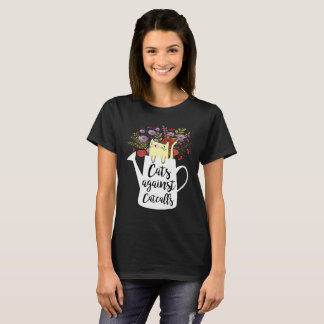 Cats Against Catcalls Cute Feminist T-Shirts