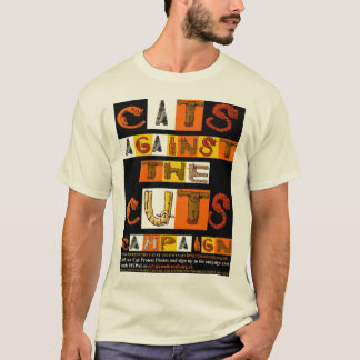 Cats against the Cuts Campaign T-Shirt