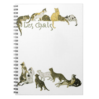 Cats, Alexandre Steinlen Notebook