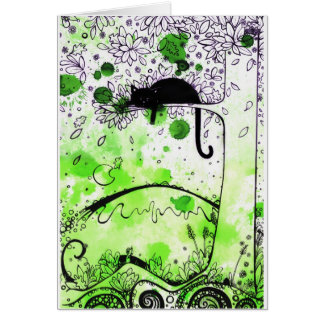 Cats Aloft Card