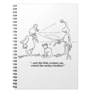 Cats and Aliens Notebook