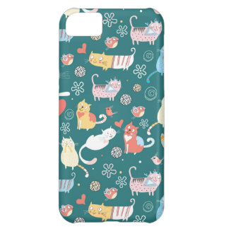Cats and Birds iPhone 5C Cases