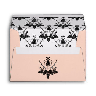 Cats and Catnip Silhouette Graphic Envelopes