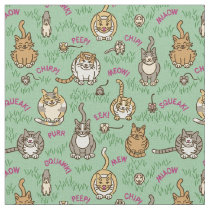 Cats and Critters Fabric