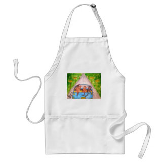 Cats And Dogs Adult Apron