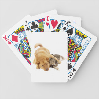 Cats and Dogs Bicycle Playing Cards