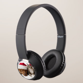 Cats and dogs - Christmas cat - christmas dog Headphones