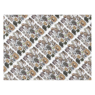 Cats and Dogs Tablecloth