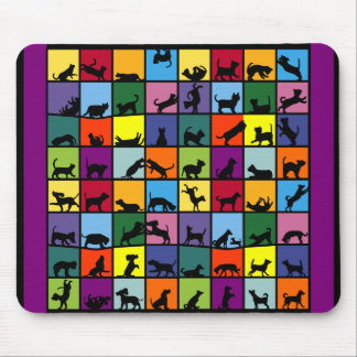 Cats and Dogs Mousepad