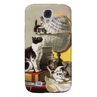 Cats and Globe Samsung Galaxy S4 Cases