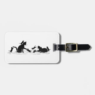 Cats and Kittens Luggage Tag. Luggage Tag