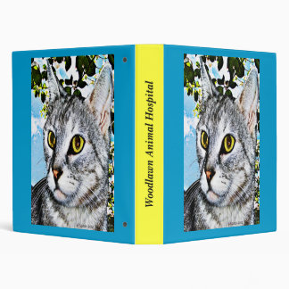 "Cats and Nature ""In Full Bloom"" Digital Art Binder"