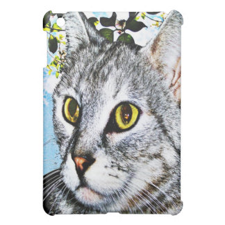 "Cats and Nature ""In Full Bloom""  iPad Mini Case"