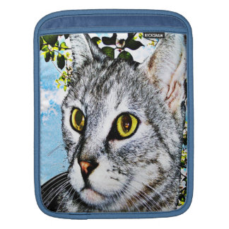 """Cats and Nature """"In Full Bloom"""" iPad Sleeve"""