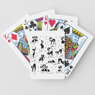cats and paws gatose footprints bicycle playing cards