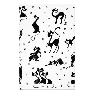 cats and paws gatose footprints stationery