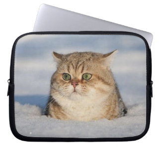 cats_and_snow7 computer sleeve