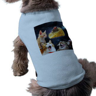 Cats and the mouse on the cheese shirt